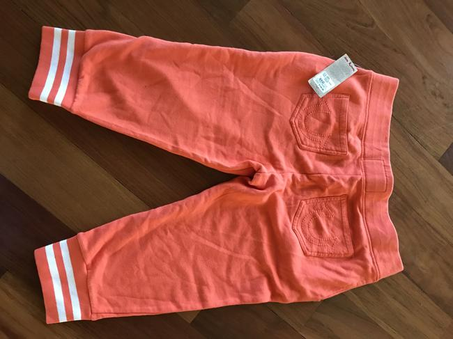 True Religion Capris Orange Image 1