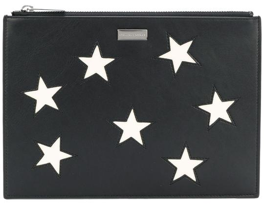 Preload https://img-static.tradesy.com/item/25690511/stella-mccartney-alter-nappa-zip-pouch-in-metallic-embroidered-stars-black-faux-leather-clutch-0-1-540-540.jpg