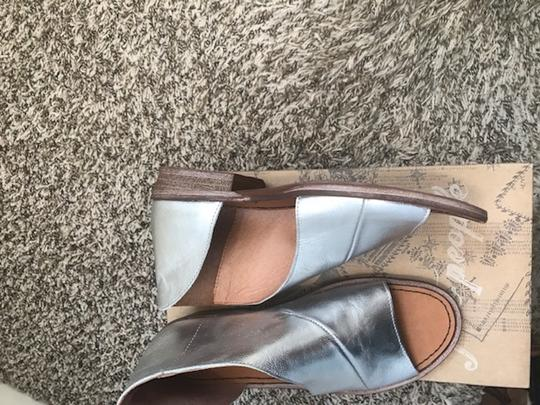 Free People silver Flats Image 2