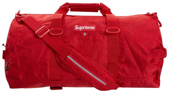 Item - Duffle 2019 Limited Edition Red Nylon Weekend/Travel Bag