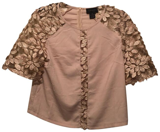 Preload https://img-static.tradesy.com/item/25690630/gracia-blush-blouse-size-8-m-0-1-650-650.jpg