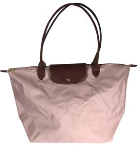 Longchamp Pliage Large Tote in Light Pink