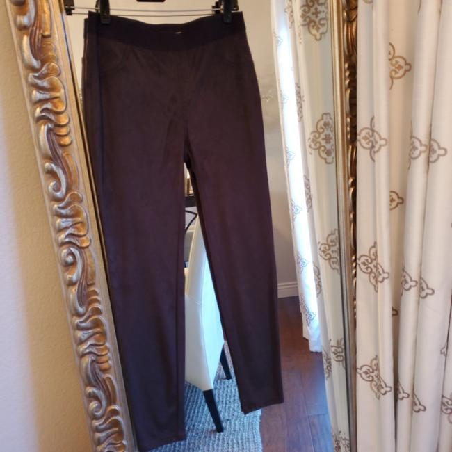 Preload https://item2.tradesy.com/images/vince-camuto-dark-gray-faux-suede-leggings-size-2-xs-26-25690706-0-0.jpg?width=400&height=650