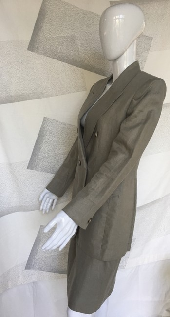Jones New York Linen skirt suit Image 6