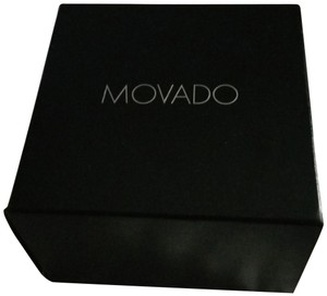 Movado Beautiful sleek all black Men's Movado