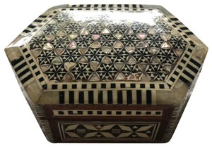Mother Of Pearl Hand Made Jewelry Box hand crafted wooden jewelry box with mother of pearl mosaic
