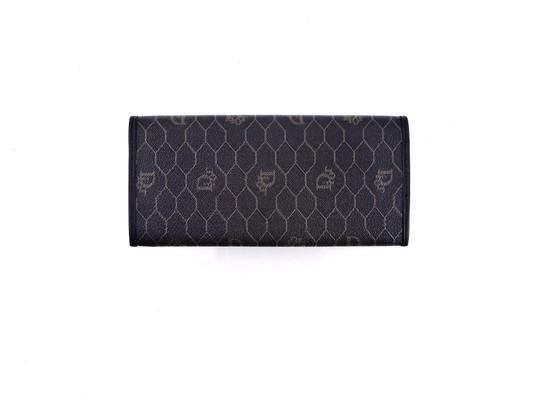 Dior Trotter Monogram Canvas Leather Long Clutch Wallet Image 5
