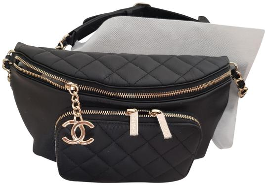 Preload https://img-static.tradesy.com/item/25690834/chanel-bumbag-caviar-gold-hardware-black-grained-calfskin-leather-weekendtravel-bag-0-3-540-540.jpg
