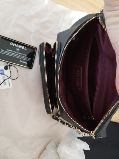 Chanel Black Travel Bag Image 1