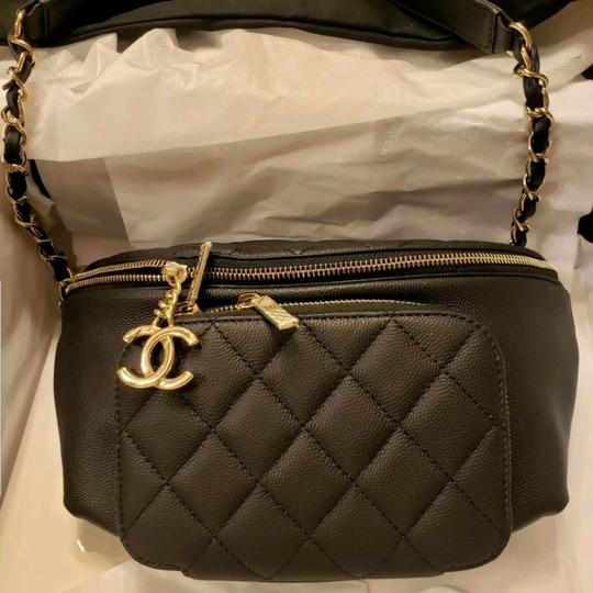 Chanel Black Travel Bag Image 11