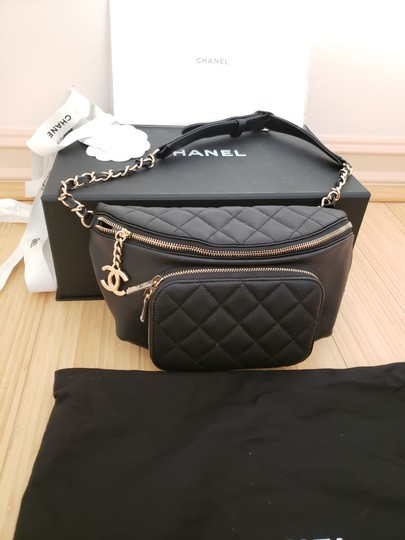 Chanel Black Travel Bag Image 2