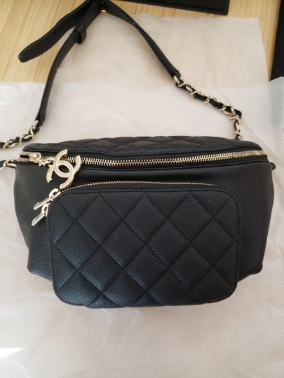 Chanel Black Travel Bag Image 3