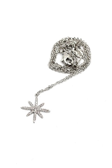 Ocean Fashion Sterling silver wild star rice crystal necklace Image 1