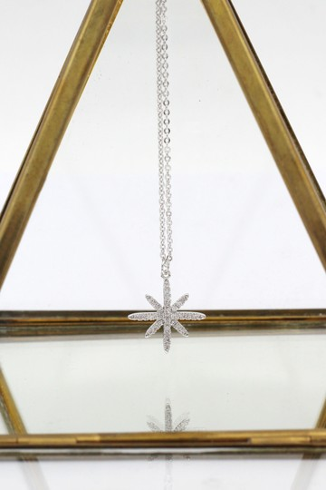 Ocean Fashion Sterling silver wild star rice crystal necklace Image 3