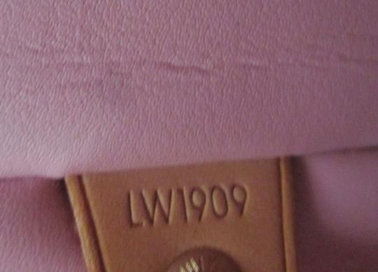 Louis Vuitton Vernis Houston Patent Leather Tote in Peach Image 11