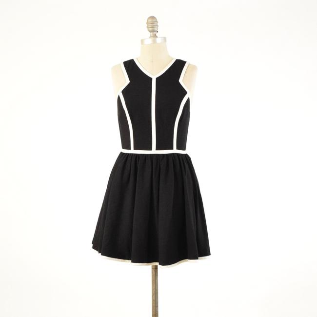 Keepsake the Label Sleeveless Piped Cut-out Mini Skater Dress Image 2