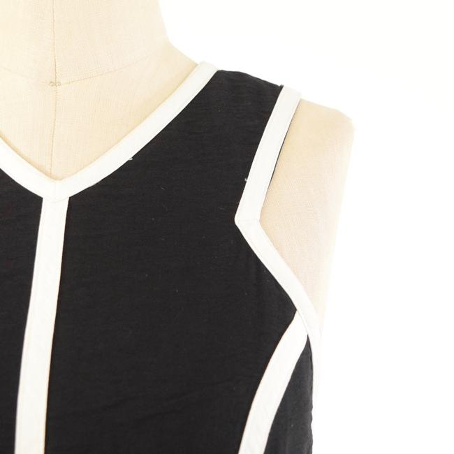 Keepsake the Label Sleeveless Piped Cut-out Mini Skater Dress Image 3
