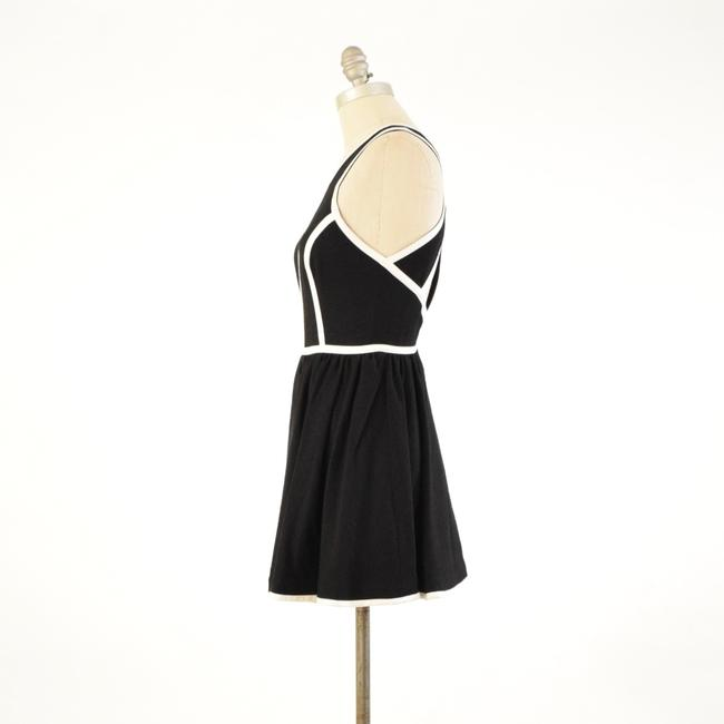 Keepsake the Label Sleeveless Piped Cut-out Mini Skater Dress Image 4