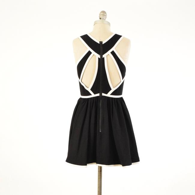 Keepsake the Label Sleeveless Piped Cut-out Mini Skater Dress Image 5