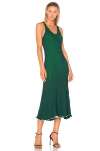 Green Maxi Dress by T by Alexander Wang