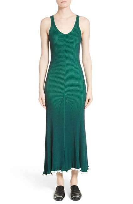 Green Maxi Dress by T by Alexander Wang Image 1
