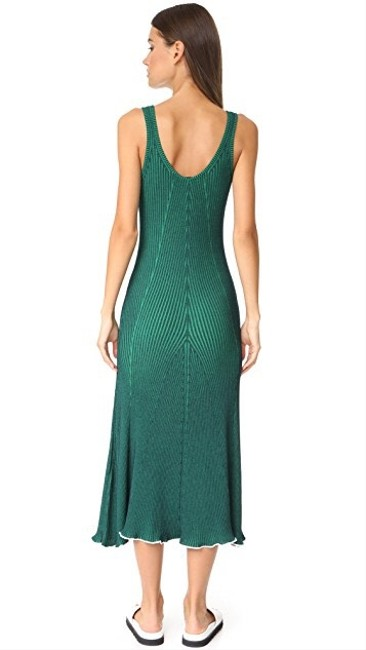Green Maxi Dress by T by Alexander Wang Image 2