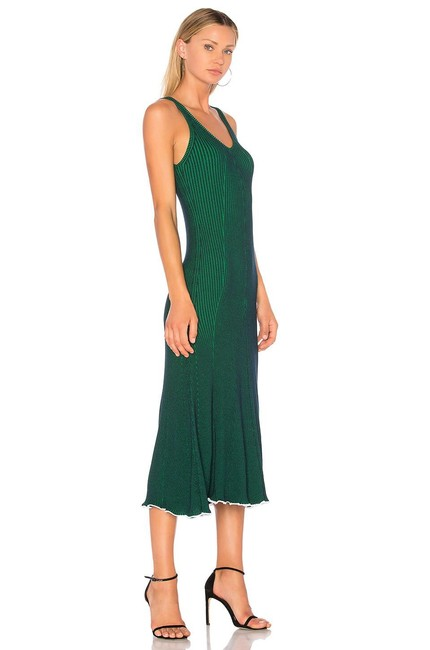 Green Maxi Dress by T by Alexander Wang Image 3
