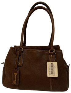 Fossil Satchel in Expresso