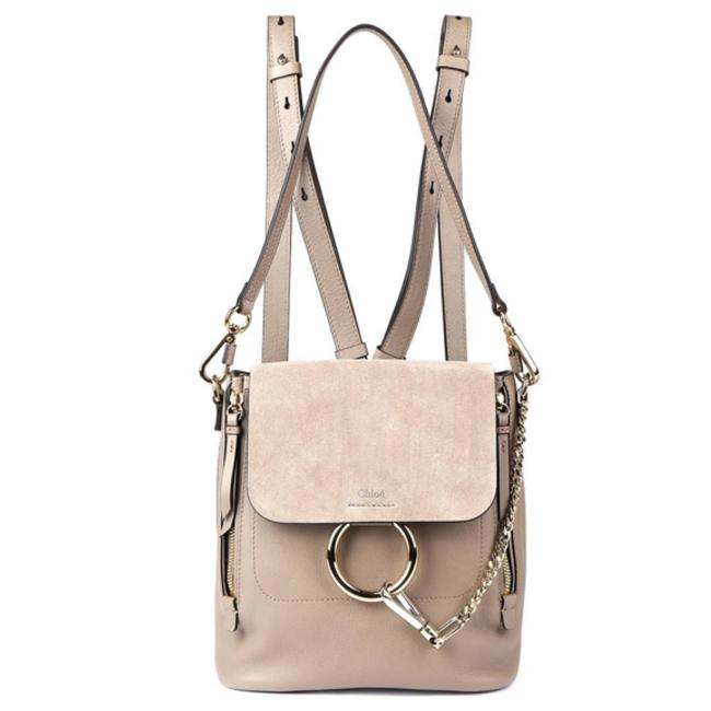 Item - Faye Small Leather and Suede Backpack