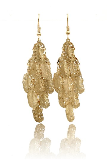 Preload https://img-static.tradesy.com/item/25691162/gold-long-small-feather-earrings-0-0-540-540.jpg