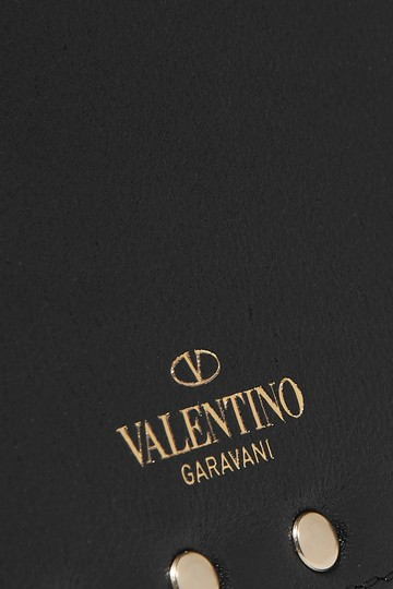 Valentino Valentino Rockstud Grainy Calfskin Coin Purse and Cardholder Image 3