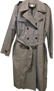 Iris & Ink Glen Plaid Trench Coat