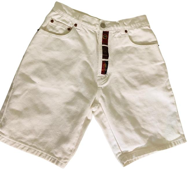 Request Jeans White Denim For Boys and Girls Shorts Size OS (one size) Request Jeans White Denim For Boys and Girls Shorts Size OS (one size) Image 1