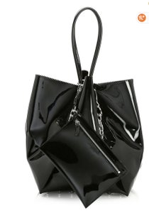 Alexander Wang Roxy Chain Bucket Tote in Black