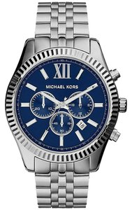 Michael Kors Michael Kors Men's Lexington Blue Dial Wrist Watch MK8280