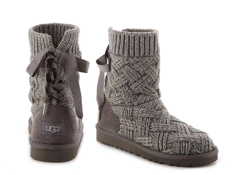 16557894841 UGG Australia Gray Isla Sweater and Suede Boots/Booties Size US 5 Regular  (M, B) 43% off retail