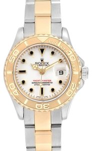 Rolex Rolex Yachtmaster 29 Steel Yellow Gold White Dial Ladies Watch 169623