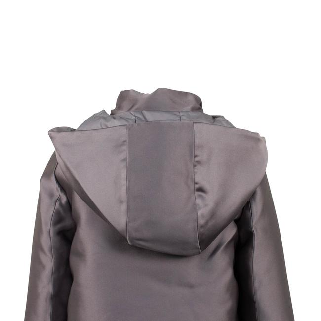 Valentino Gray Short Hooded Down Filled Coat Size 2 (XS) Valentino Gray Short Hooded Down Filled Coat Size 2 (XS) Image 5