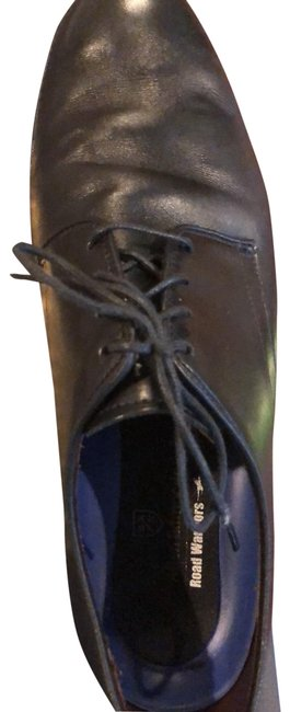 Item - Black Road Warriors Lax Formal Shoes Size US 10.5 Regular (M, B)