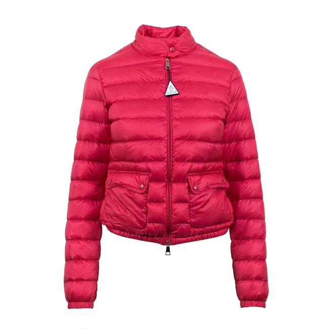 Item - Pink 'lans' Down Quilted Puffer Jacket Size 0 (XS)