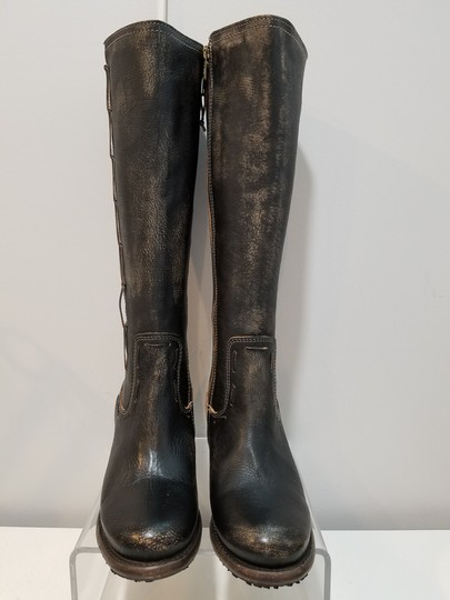 Bed|Stü washed distressed black Boots Image 3