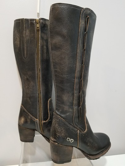 Bed|Stü washed distressed black Boots Image 7
