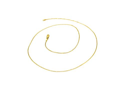Preload https://img-static.tradesy.com/item/25693929/2124-14k-yellow-gold-cable-chain-necklace-0-0-540-540.jpg