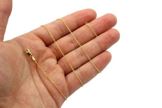Other (2124) 14K Yellow Gold Cable Chain Image 2
