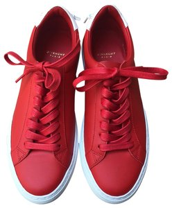 Givenchy Leather Knots Logo New Red Athletic