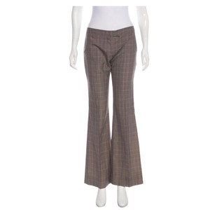 Stella McCartney Flare Pants Taupe and multicolor
