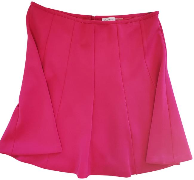 Calvin Klein Hot Pink Style W5bnx340 Group 2m Skirt Size 16 (XL, Plus 0x) Calvin Klein Hot Pink Style W5bnx340 Group 2m Skirt Size 16 (XL, Plus 0x) Image 1