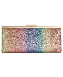 INC International Concepts Rainbow Clutch