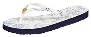 Tory Burch ivory far and away Sandals