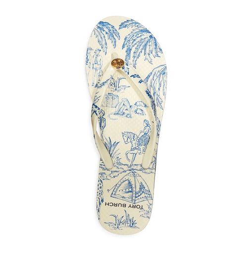 Tory Burch ivory far and away Sandals Image 3